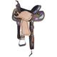 Silver Royal Delilah Barrel Saddle