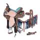 Silver Royal Skylar 5-Piece Barrel Saddle Pkg