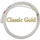 Classic Gold 3-Strand Heel Rope Medium Hard