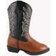 Smoky Mtn Kids Pull On Austin Light Up Boots 3  Bl