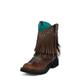Justin Ladies Gypsy Rnd w/Fringe Studs Boots