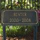 Cast Aluminum Pet Memorial Marker