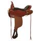 Circle Y High Horse Eldorado Saddle 17 Wide Brown