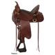 Circle Y High Horse Big Spring Saddle 17 Wid Tobac