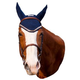 Equine Couture Fly Bonnet with Lurex Rope