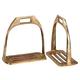 Australian Outrider 4 Bar Brass Stirrup Irons