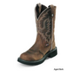 Justin Ladies Gypsy 11in Boots 11 Aged Bark