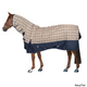 Defender Classic Plaid Combo T/O Sheet 57In Navy/T