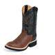 Justin Mens Westerner Round Toe Boots