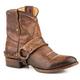 Roper Ladies Selah Short Leather Brown Boots