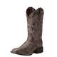 Ariat Ladies Quickdraw Sq Toe Chocolate Boots
