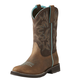 Ariat Ladies Delilah Round Toe Fudge Boots