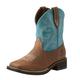 Ariat Ladies Shasta H2O Sq Toe Turquoise Boots