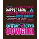 Cowboy Lovin T-Shirt X-Large