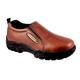Roper Mens Leather Slip On Shoe