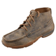 Twisted X Mens Bomber Dark Brown Driving Mocs
