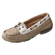 Twisted X Ladies Dusty Tan/White Driving Mocs