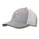 Hooey Coach Gray/White Flexfit Hat