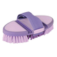 Roma Soft Grip Flex Body Brush Purple