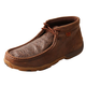 Twisted X Ladies Brown Print Driving Moccasins