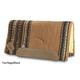 Impact Gel Flintlock Wool Saddle Pad Fleece Tan/Sa