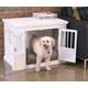 Merry Products Triple Door Medium Dog Crate