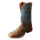 Twisted X Mens Hooey Square Toe Denim Boots