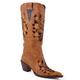 Roper Ladies Skull Boots 11 Brown