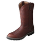 Twisted X Mens Cowboy Brown Work Boots