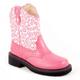 Roper Kids Glitter Animal Print Boots 3