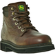 John Deere Steel Toe Mens Boot 10M Golden Tan