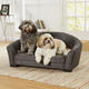 Enchanted Home Pet Artemis Grey Sofa Dog Bed