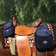 AQHA Horn and Cantle Saddle Bag Set