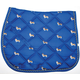 Lettia Embroidered Corgi AP Saddle Pad