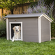 New Age Pet ecoFLEX Thermocore Grey Dog House