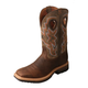 Twisted X Mens Lite Cowboy Taupe Work Boots