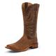 Tony Lama Mens Bingham Sq Toe Cognac Boots