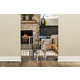 Carlson Pet Platinum Extra Wide Gate with Pet Door