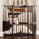 Carlson Pet Design Paw Extra tall Gate w/ Pet Door