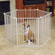 Carlson Pet Convertible Yard and Pet Gate
