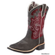 Ariat Ladies Unbridled Boots 8.5 Brown/Red