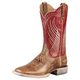 Ariat Mens Mecate Boots 9EE Tan/Red