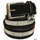 Equine Couture Bling Leather Belt 36 Havana
