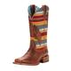 Ariat Ladies Circuit Feather Sq Serape Boots