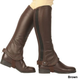 Dublin Flexi Leather Half Chaps X-Large Brown