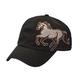 Rhinestone Horse Ball Cap