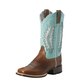 Ariat Ladies Solana VentTEK Sq Toe Blue Boots