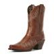 Ariat Ladies Potrero Snip Toe Ant Nutmeg Boots