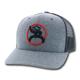 Hooey Strap Roughy 6-Panel Gray/Black Hat