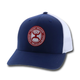 Hooey El Camino Patch 6-Panel Blue/White Hat